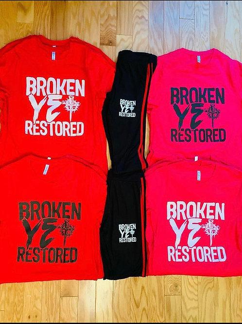 Broken Yet Restored T Shirt