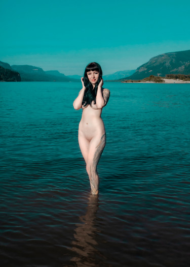 Model: La La Lavender  Portland, Oregon, United States  2020