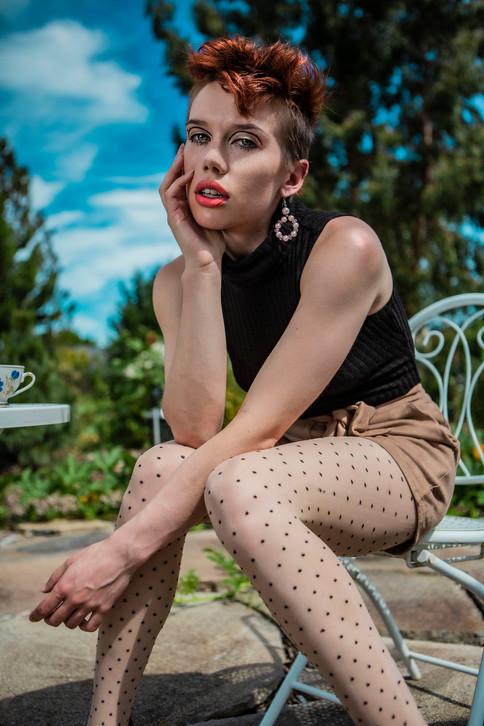 Model: Sky Buttons  Portland, Oregon, United States  2020