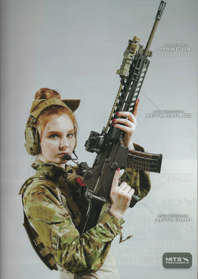 Platoon Magazine, April 2020  For Mitts Precision  Photo Credit: Weapon Outfitters  Seoul, South Korea