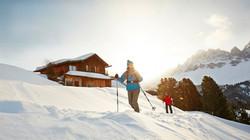 Ciaspolata nelle Dolomiti