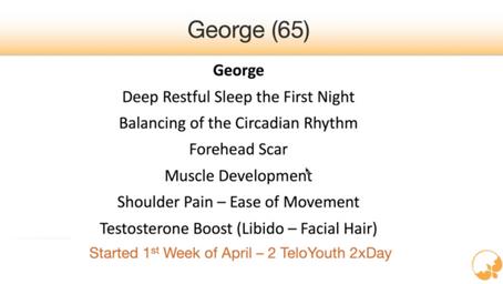 Vision Improvement: George M. age 65