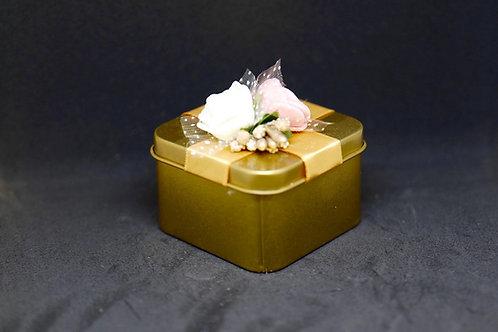 קופסת זהב מתכת