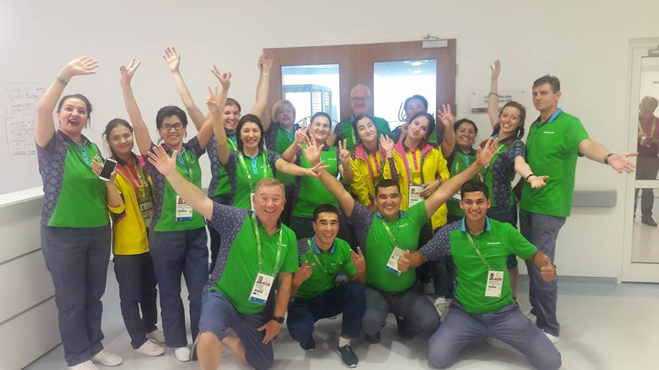 AIMAG 2017 Sports Massage Team