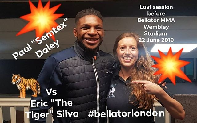 Paul Semtex Daley in clinic June '19