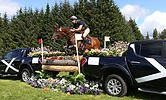horse trials cross country pick up truck