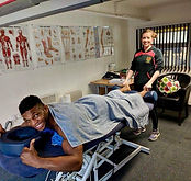 Paul _Semtex_ Daley in clinic back in 20