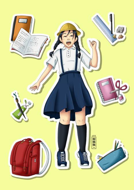 L'écolière japonaise