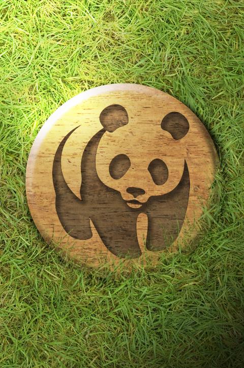 Logo texturisé