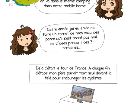 [2014] -  Strip n°20 : Carnet de vacances 2014
