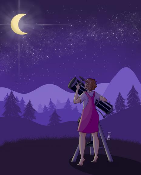 Dans mon téléscope