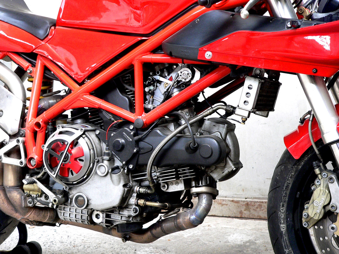 Ducati 748 mit 1000 DS Herz