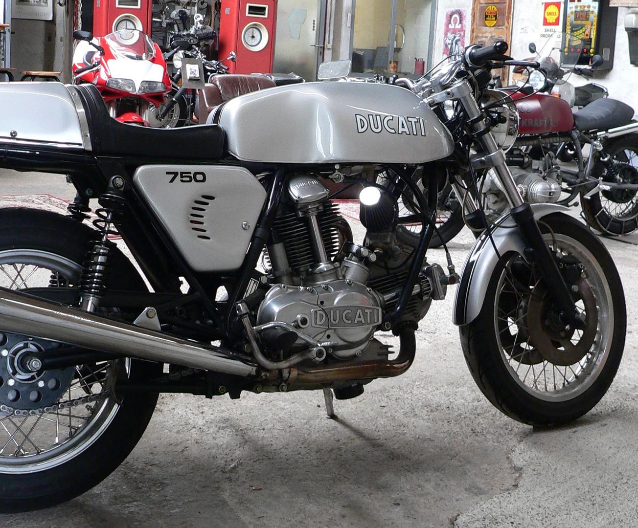 Ducati 750 Königswelle