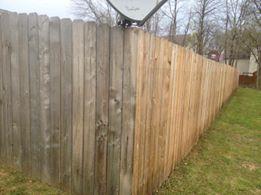 Quicks Powerwashing does fencing