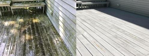 Quicks Powerwashing Treats Decks