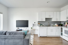 Living Space & Kitchen