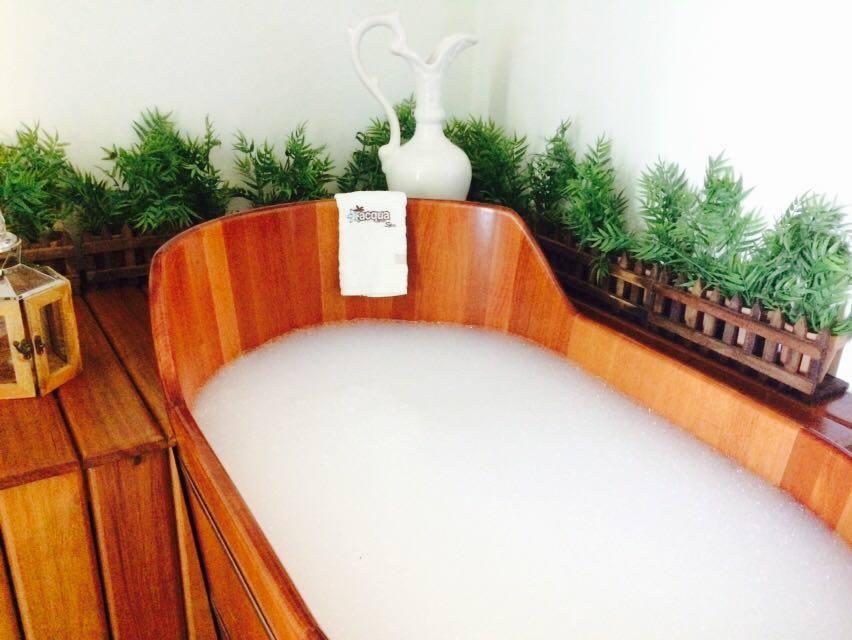 banho dourado