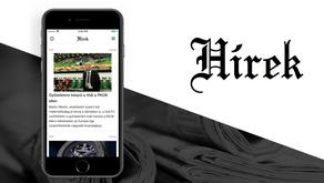 Hírek applikáció