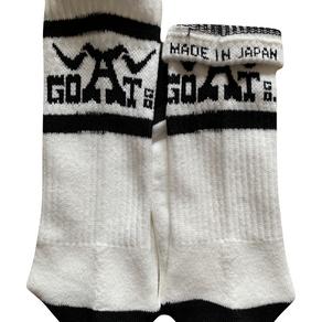 Made in Japan − GOATco. ロゴ ソックス