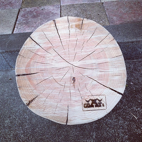 里山再生 薪割り台