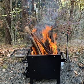 アウトレット販売;インダストリアル焚き火台&グリル7