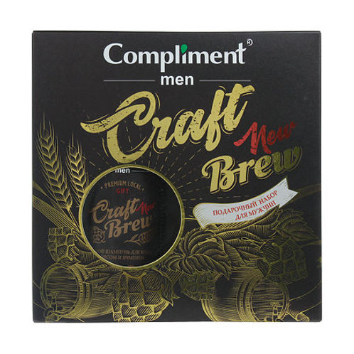 Compliment Подарочный набор №1780 Men Craft Brew, 1 уп.