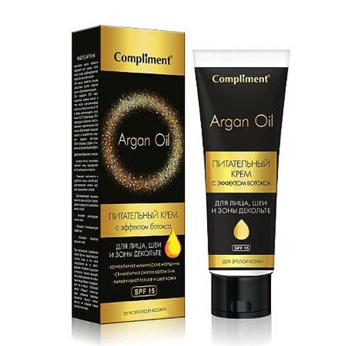 Compliment Agran Oil Питательный крем с эффектом ботокса для зрелой кожи, 50мл