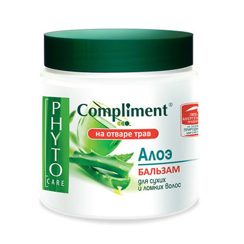Compliment Phyto Care Бальзам для волос, алоэ 500мл