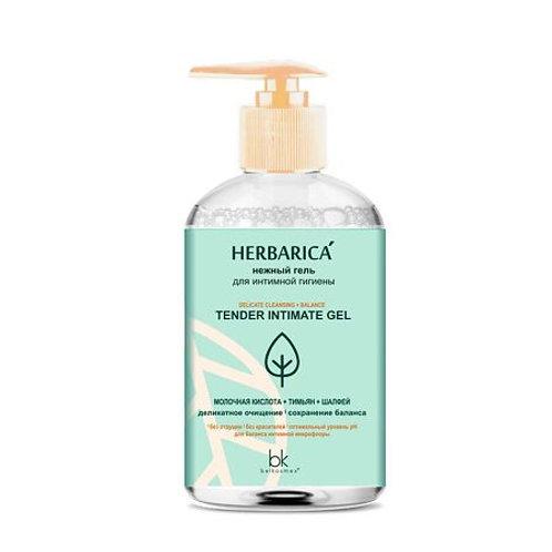 BelKosmex Herbarica Нежный гель для интимной гигиены, 300 г