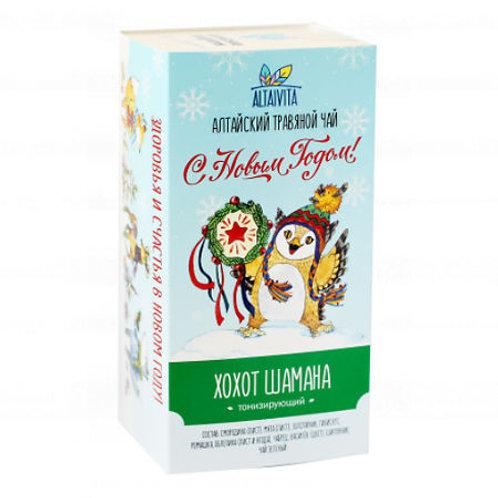 Altaivita Травяной чай Хохот шамана в пирамидках, 40 г