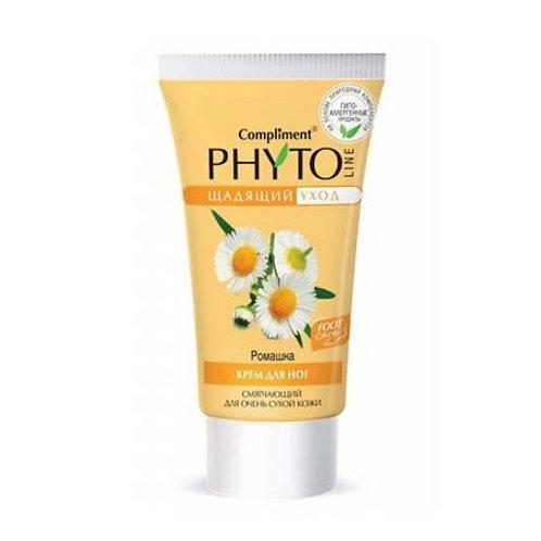 Compliment Phyto Line Крем для ног Ромашка смягчающий для очень сухой кожи, 15..