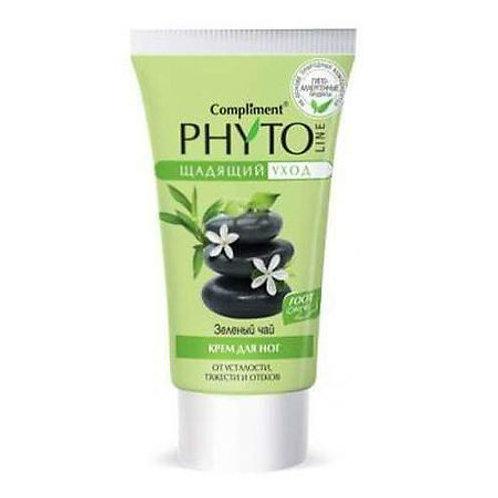 Compliment Phyto Line Крем для ног Зеленый чай от усталости, тяжести и отеков,..