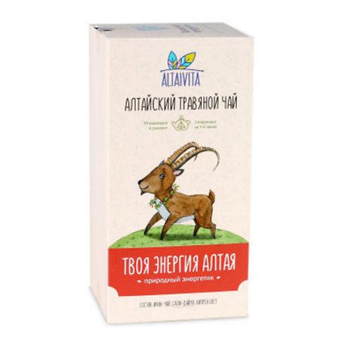 Altaivita Травяной чай Твоя энергия Алтая в пирамидках, 40 г