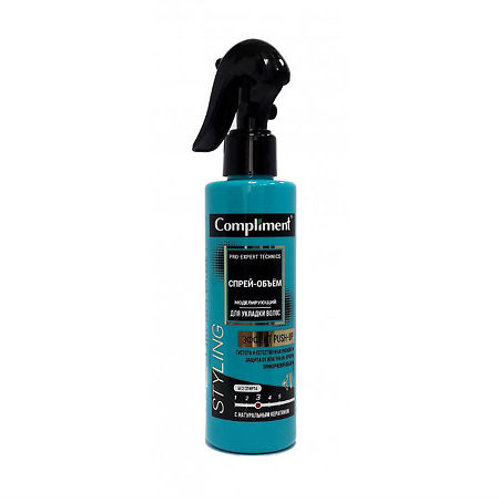 Compliment Pro-expert technics Спрей-объём моделирующий для укладки волос, 200..