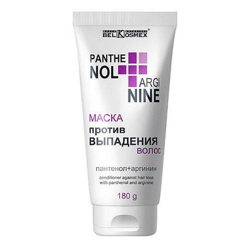 BelKosmex Pantenol+Arginine Маска против выпадения волос, 180г
