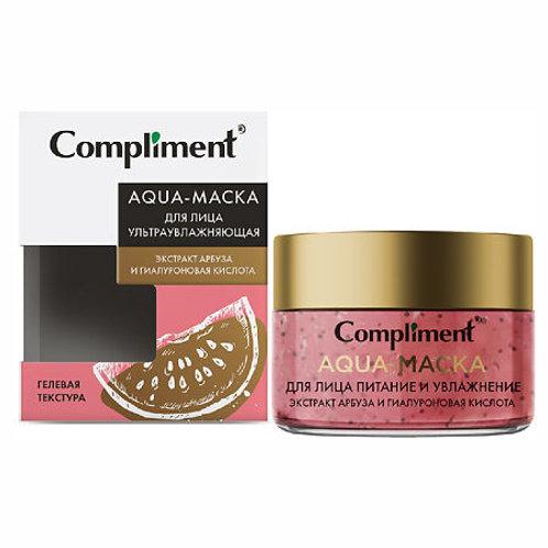 Compliment Aqua-маска для лица ультраувлажняющая с экстрактом арбуза и гиалуро..