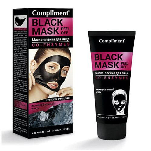 Compliment Black Mask Маска-пленка для лица, co-enzymes 80мл