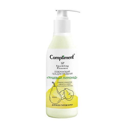 Compliment Sparkling Pleasure Гель для умывания Грушевый лимонад 200 мл, 200 мл