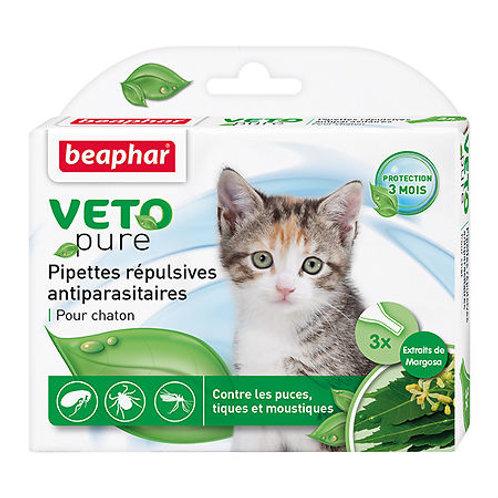 Beaphar Bio Stop On Капли для котят от блох, клещей и комаров с экстрактом мар..