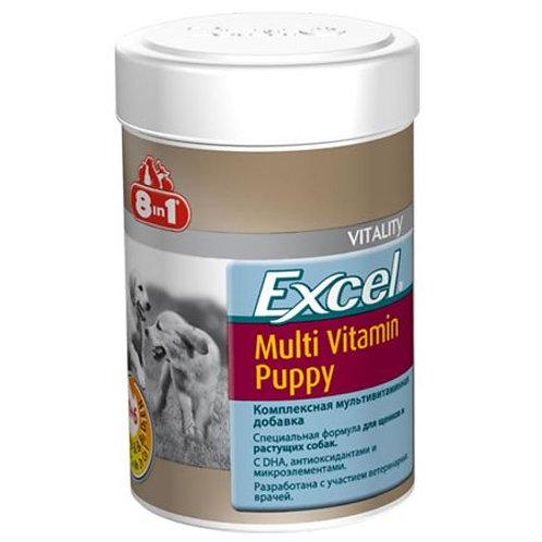 8in1 Excel Multi-Vitamin Puppy Мультивитаминный комплекс для щенков, 100 шт.