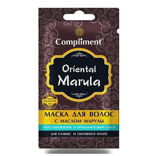 Compliment Oriental Marula Саше Маска для волос с маслом марулы восстановление..