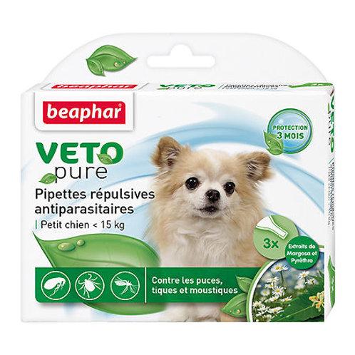 Beaphar Bio Stop On капли для собак мелких пород от блох, клещей и комаров, 3 ..