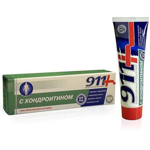 911 Хондроитин, гель-бальзам для тела 100 мл