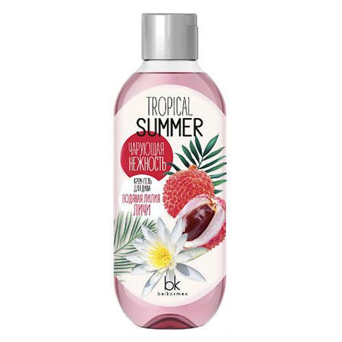 BelKosmex Tropical Summer Крем-гель для душа водяная лилия личи, 500 г