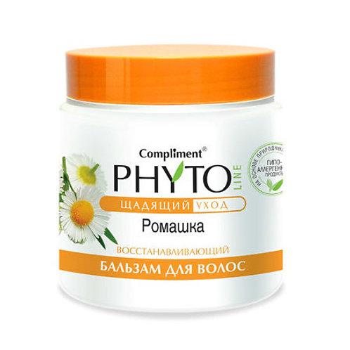 Compliment Phyto Line Бальзам для волос, ромашка 500мл
