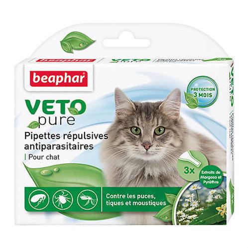 Beaphar Bio Stop On Капли для кошек от блох, клещей и комаров с экстрактом мар..
