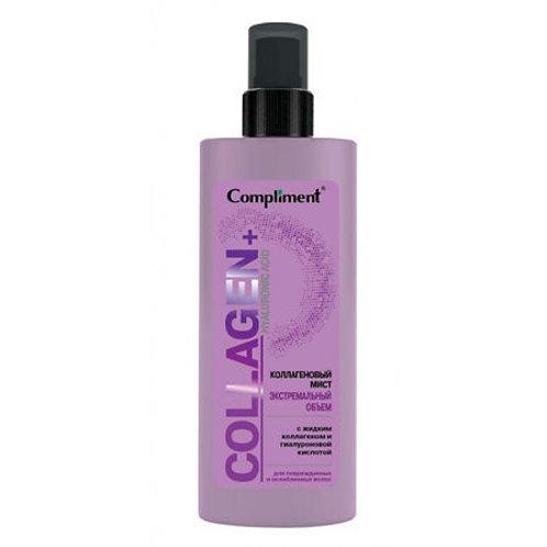 Compliment Collagen+Hyaluronic Acid Коллагеновый мист Экстремальный объем воло..