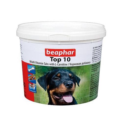 Beaphar Top 10 Витаминная добавка для нормализации обмена веществ у собак и ще..