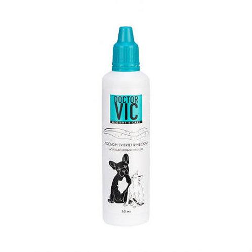 Doctor Vic Лосьон гигиенический для ушей собак и кошек, 60 мл