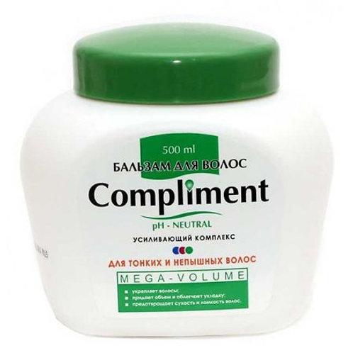 Compliment Бальзам для тонких волос Mega-Volume, 500мл
